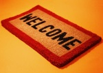 welcome mat clip art